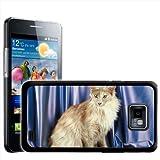 Fancy A Snuggle Hartschalenhülle für Samsung Galaxy S2 i9100 (aufsteckbar, Motiv 'Türkische...