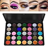 Frcolor 35 Farbe Glitter Lidschatten Make-up Schatten Pigmente Gel Makeup Kit Kosmetik Augenschatten