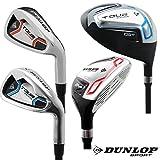 DUNLOP - JUNIOR Golfschläger (wählbar: 7 - 9 - PW - Hybrid - Driver) mit Graphiteschaft | Auswahl:...