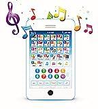 Englisch Lern-Tablet Spaß-Handy mit Lernspielen für Kleinkinder, von Boxiki Kids   Interaktives...