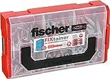 Fischer 535968 FIXtainer - DUOPOWER Universaldübel, 210 Teile, Dübelset