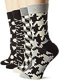 Happy Socks Geschenkbox BLACK WHITE GIFT BOX XBLW09-9001 Grau