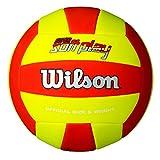 Wilson Volleyball, Outdoor, Freizeitspieler, Super Soft Play, Rot/Weiß/ Blau
