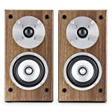 auna • Linie 501 BS-WN • Regallautsprecher • Lautsprecher-Boxen • HiFi-Boxen •...