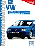 VW Golf IV / Bora: 2000-2002  //  Reprint der 1. Auflage 2003 (Reparaturanleitungen)
