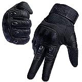 [Sport Handschuhe] FREETOO Motorrad Handschuhe Herren Vollfinger Army Gloves Ideal für Airsoft,...