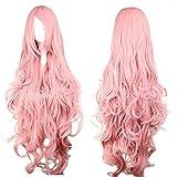 Perücke Pink Rosa ca. 90cm für VOCALOID Luka Cosplay oder Schaufensterpuppen Karneval oder...