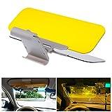 Racksoy Praktisch 2-in-1 Auto Kfz Sonnenschutz Sonnenblenden Frontscheibe Blendscheinwerfer für...