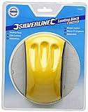 Silverline 100002 Schleifklotz mit Griffmulden 85 x 150 mm