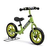 Enkeeo Laufrad Lern Fahrrad ab 2 Jahren - 12 Zoll Kinder Fahrrad Lauflernrad Metalrahmen