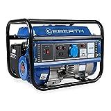 EBERTH Stromerzeuger mit 3,0PS/2,2kW-Leistung