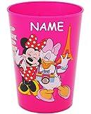 1 Stück _ 3 in 1 - Trinkbecher / Zahnputzbecher / Malbecher - Becher - ' Disney Minnie Mouse - PINK...