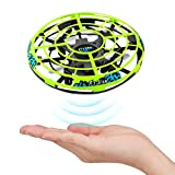 Baztoy UFO Mini Drohne, Kinder Spielzeug RC Quadcopter Infrarot-Induktions-Flying Ball mit...