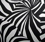 Rasch Ich & Kars Phospho Wall Tapete Vlies Schwarz Weiß Leuchten im Dunkeln
