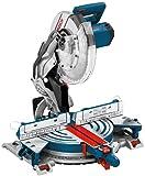 Bosch Professional Kapp- und Gehrungssäge GCM 12 JL (mit Laser, Sägeblatt, Spannzange, Karton, 230...