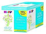 Hipp Babysanft Feuchttücher Ultra Sensitiv, 3er Pack von 4x52 Tüchern (12 x 52 Tücher)