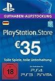 PSN Card-Aufstockung | 35 EUR | PS4, PS3, PS Vita Playstation Network Download Code - deutsches...