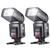 NeewerTT560 Zwei Blitzgerät Blitz Speedlite Set für Canon Nikon Sony Olympus Panasonic Pentax...