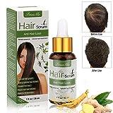 Haarserum, Anti-Haarausfall, Haarwachstums-Serum, natürliche Kräuteressenz,...