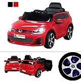Kinder Elektroauto VW Golf GTI Original Lizenz Kinderauto Kinderfahrzeug Elektro Auto Spielzeug Für...