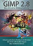Gimp 2.8 Software Paket inkl. 20.000 ClipArts, 10.000 Foto Rahmen und gedrucktem Handbuch von...