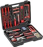 Meister Haushaltskoffer 60-teilig ✓ Werkzeug-Set ✓ Werkzeug für den täglichen Gebrauch |...