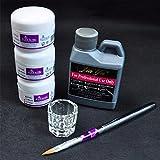 Pro-einfach Nagel-Kunst-Installationssätze, Acryl-flüssige Puder-Feder, Dappenteller-Werkzeug-Satz