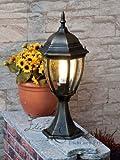 Hochwertige XL Außen-Standleuchte Außen-lampe'Toronto' in antik Stockellampe Wegleuchte Wegelampe