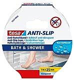 tesa® Anti-Rutschband Bad & Dusche, 5m:25mm, durchsichtig