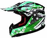 Motocross Helm Kinder Motorradhelm Downhill - Yema YM-211 Fullface Cross DH Enduro Quad Mountainbike...