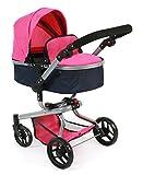 Bayer Chic 2000 593 27 Kombi-Puppenwagen Yolo, marine/rosa