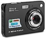 AbergBest 21 Megapixel 2,7'LCD wiederaufladbare HD Digitalkamera Digitale Videokamera...