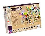 Glorex 6 1214 072 - Jumbo Bastel-Mix, 1000 Teile
