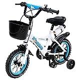 Actionbikes Kinderfahrrad Donaldo ab 3 Jahren 12 Zoll Blau Kinder Mädchen Jungen Fahrrad