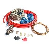 Velidy Auto Audio Kabel Verkabelung Verstärker Subwoofer Lautsprecher Installation Kit 8GA Kabel 60...