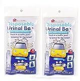 2Packungen von 4Einweg Urinal Taschen–Kompaktes und tragbares Urinal für Damen und...