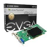 EVGA NVIDIA GeForce 6200 Grafikkarte (AGP, 512MB GDDR2 Speicher, DVI, 1 GPU)