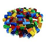 130 Teile bzw. 1 kg Lego Duplo Steine 30 x 8er 2x4 Noppen und 100 x 4er 2x2 Noppen bunt gemischt