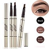 3 Farben Augenbrauenstift/Brauenstifte, Automatisch Wasserdicht EyeBrow Pencil, CIDBEST® Make Up...