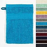 Lumaland Premium 10er Set Waschlappen Waschhandschuhe Baby Waschlappen Frottee 16 x 21 cm aus 100%...