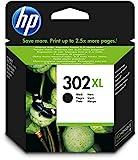 HP 302XL Schwarz Original Druckerpatrone mit hoher Reichweite für HP Deskjet, HP ENVY, HP Officejet