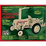 Weico 80243 Holzbausatz Traktor Porsche Junior
