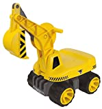 BIG 800055811 - Power-Worker Maxi-Digger, gelb