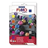 Staedtler 8023 01 Modelliermasse Fimo soft (ofenhärtend, weich und soft, sofort modellierfähig,...