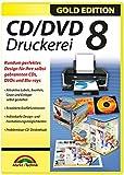 CD/DVD Druckerei 8 - CD/DVD und Blu-ray Covers gestalten - Für Windows 10 / 8.1 / 8 / 7