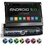XOMAX XM-VRSUA737 Android 5.1(16GB) Autoradio mit GPS Navigation + WiFi/WLAN + ODB2 + Mirrorlink +...