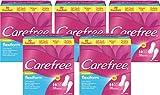 Carefree flexiform, Flexible, luftdurchlässige Slipeinlage mit Frischeduft, Für Slips und Tangas...