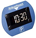 Digitale Parkscheibe elektronisch mit Zulassung (blau)