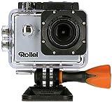 Rollei Actioncam 525 - WiFi Action Cam (Actionkamera) mit 4k Video Auflösung, Weitwinkelobjektiv,...