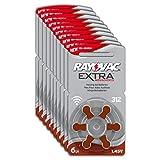 Rayovac 10 x 6 (60) Extra Advanced Typ 312 Hörgerätebatterien